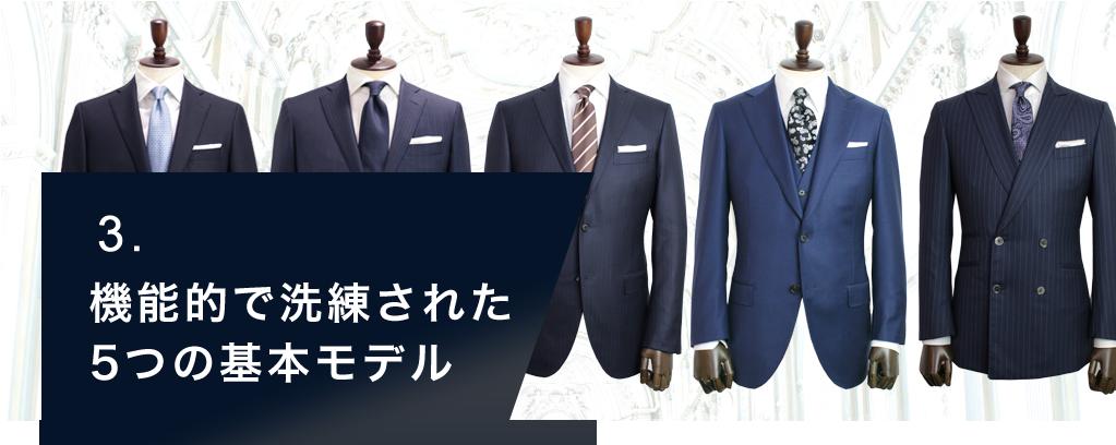 「ゼニアのスーツスタイル」を再現可能